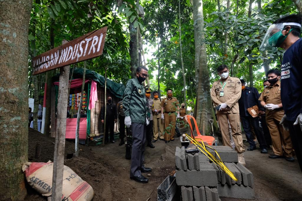 Resmikan Kampung Rewako Gowa, Gubernur Sulsel: Ini Harus Direplikasi