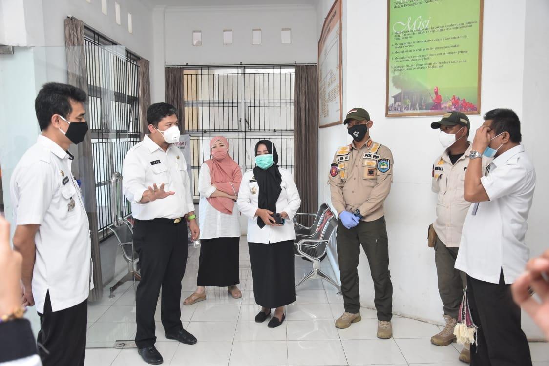 Awasi Aturan Wajib Masker Bagi ASN, Tim Pemkab Gowa Kembali Lakukan Sidak