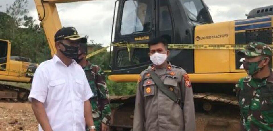 Tak Punya Izin Tambang, Tim Terpadu PETI Gowa Amankan 4 Alat Berat di Kecamatan Parangloe