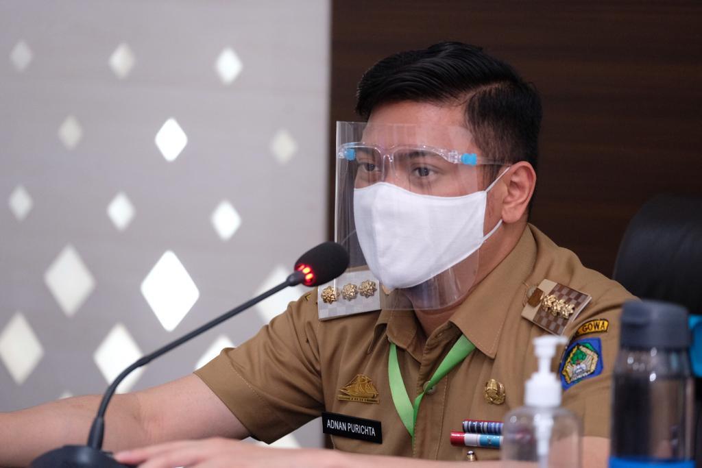 Launching Gerakan Sejuta Masker, Pemkab Gowa akan Terapkan Protkes Ketat