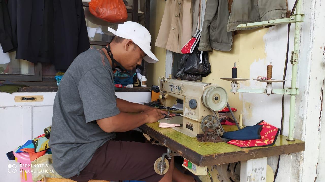 114 Pelaku UMKM Lokal Dilibatkan dalam Gerakan Sejuta Masker Pemkab Gowa