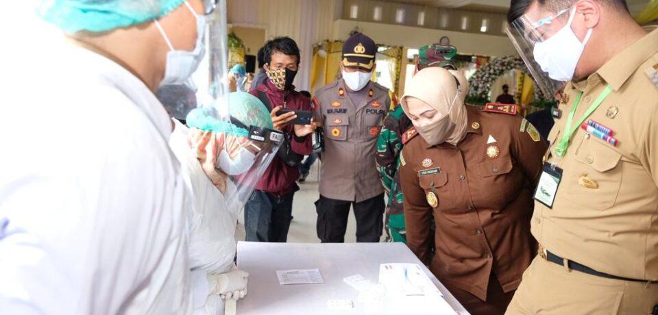 Pemkab Gowa Sediakan 1.700 Rapid Test Bagi Masyarakat Gowa yang Beraktifitas di Makassar