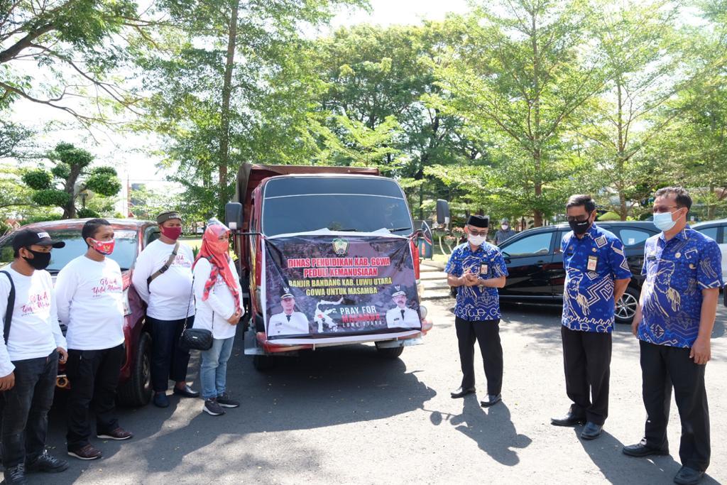 Lagi, Pemkab Gowa Kirim Bantuan Untuk Korban di Lutra