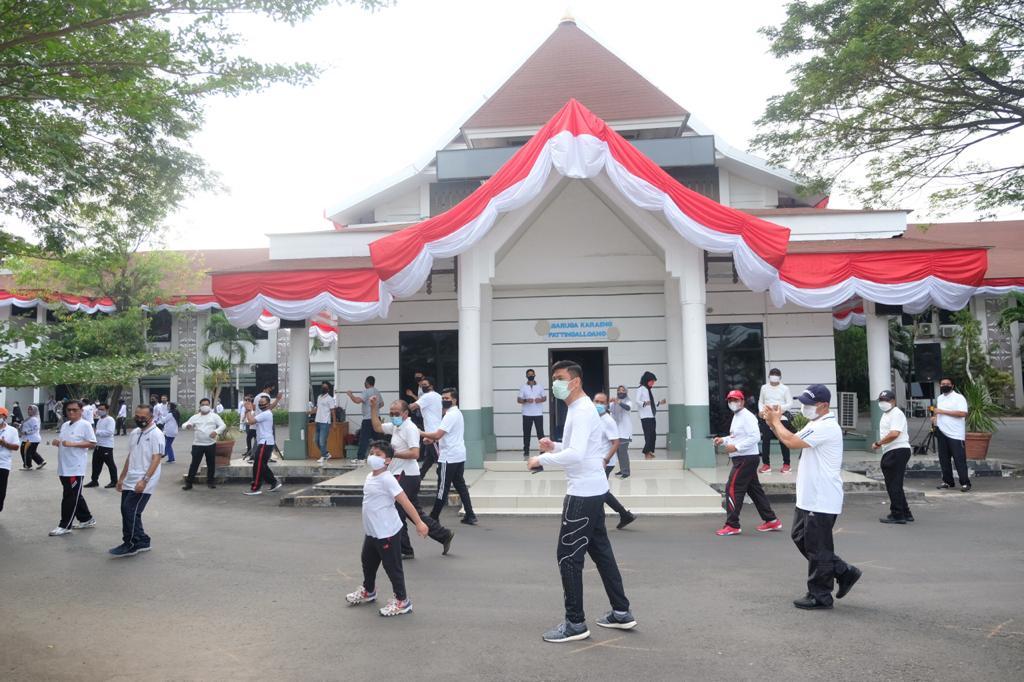 Bupati Gowa Launching Rabu Sehat