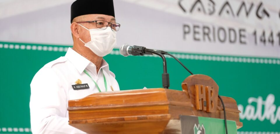Wabup Gowa Harap HMI Cabang Gowa Raya Jadi Mitra yang Baik Bagi Pemkab