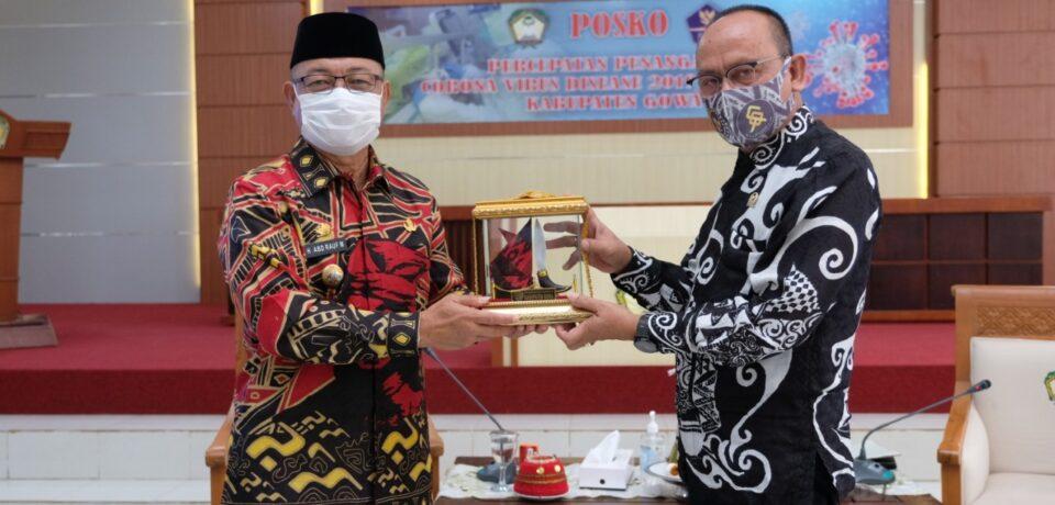 Anggota DPD RI Ajiep Padindang Puji Realisasi ADD Gowa