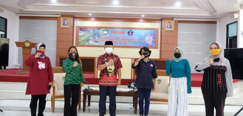 Wabup Gowa Ajak Punggawa Baine Ikut Majukan Kabupaten Gowa