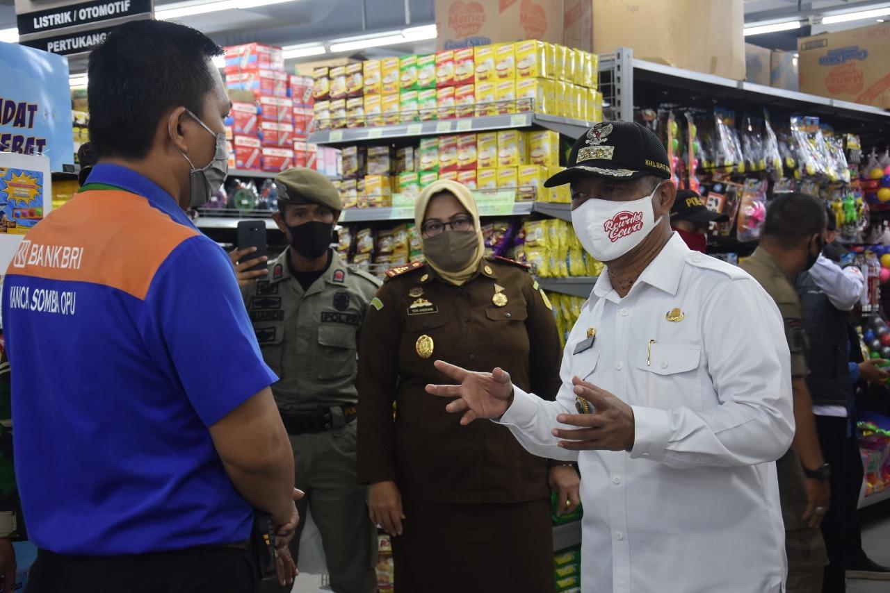 Wabup Gowa Pimpin Patroli Operasi Penegakan Pendisiplinan Protokol Kesehatan