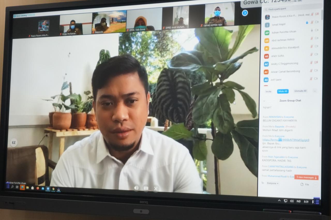 APBD-P Kabupaten Gowa TA 2020 Akan Difokuskan pada Kesehatan, Sosial dan UMKM