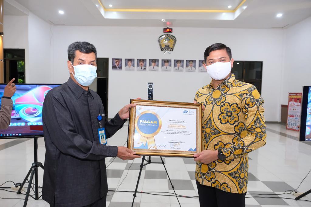 Sensus Penduduk Online Kabupaten Gowa Lampaui Target Nasional