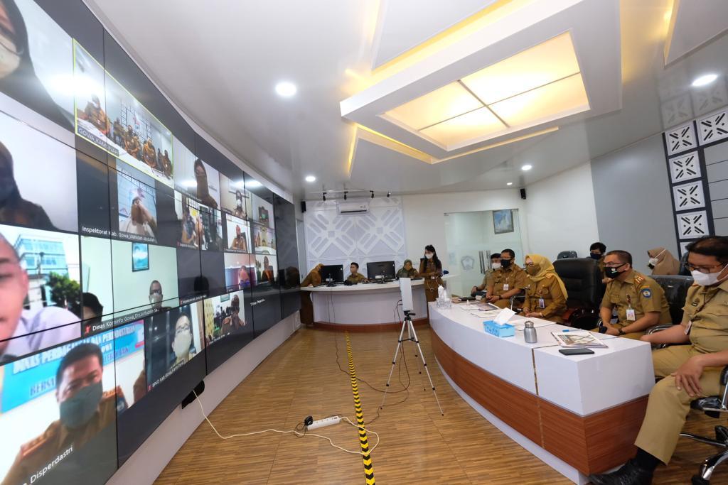 Empat SKPD Lakukan Pemaparan Rekomendasi Impelementasi Penilaian SAKIP Gowa