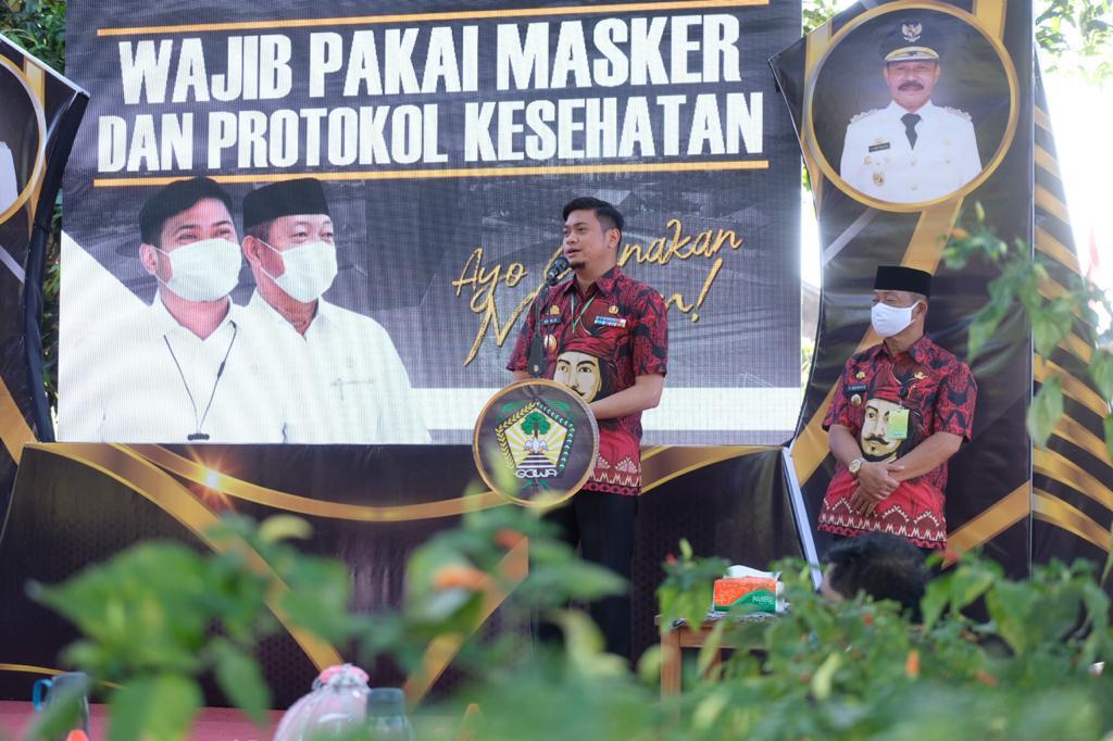 Pemkab Gowa Mulai Keliling Kecamatan Sosialisasikan Perda Wajib Masker