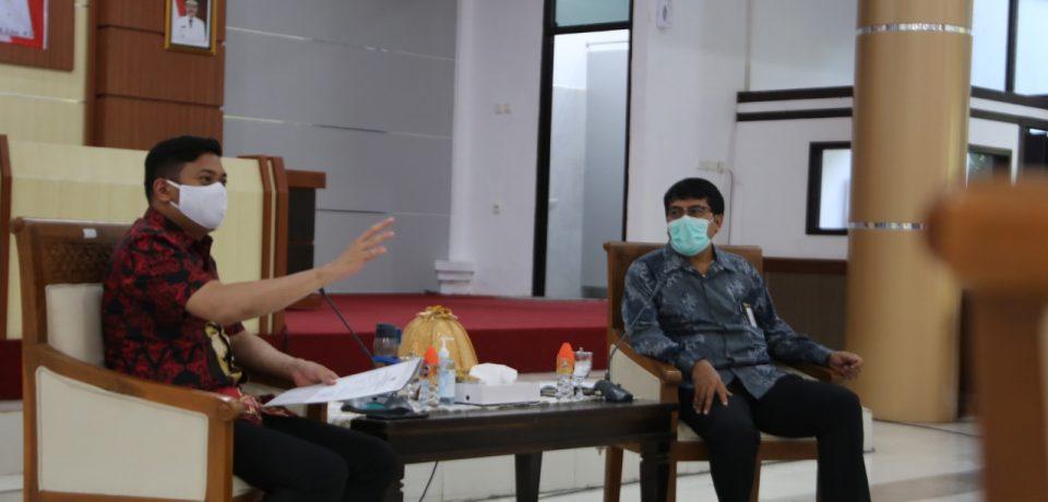 Bupati dan Wakil Bupati Gowa Terima Kunjungan BPK Perwakilan Sulsel