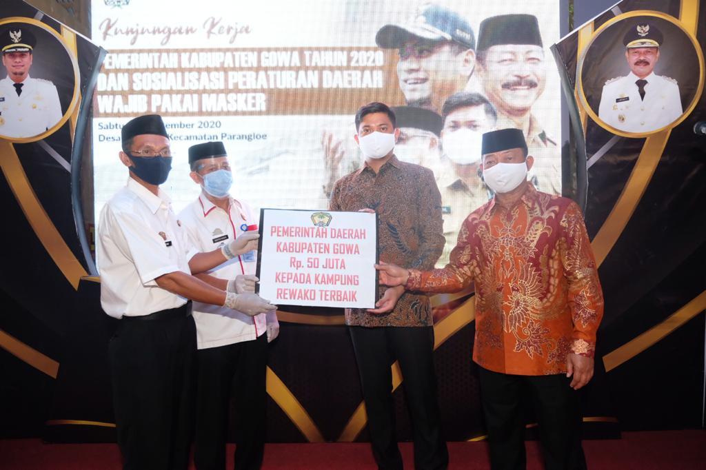 Adnan Berikan Hadiah Rp 50 Juta Bagi Kampung Rewako Terbaik di Setiap Kecamatan