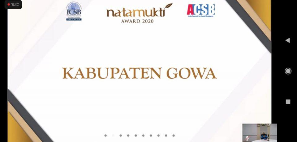 Gowa Kembali Raih Piala Natamukti