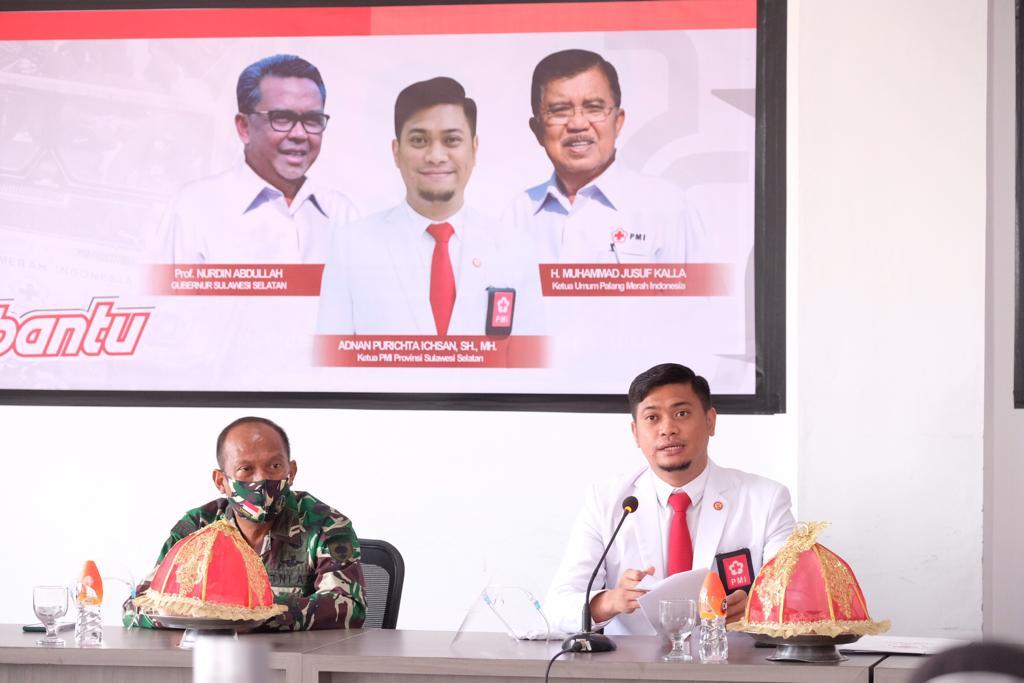 HUT PMI, Adnan Pesan Pembinaan Karakter Kepalang Merahan Ditingkatkan