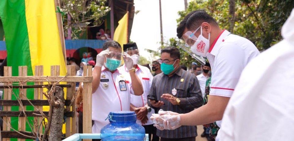 Masyarakat Tompobulu Ikut Bantu Pemerintah Sosialisasikan Perda Wajib Masker