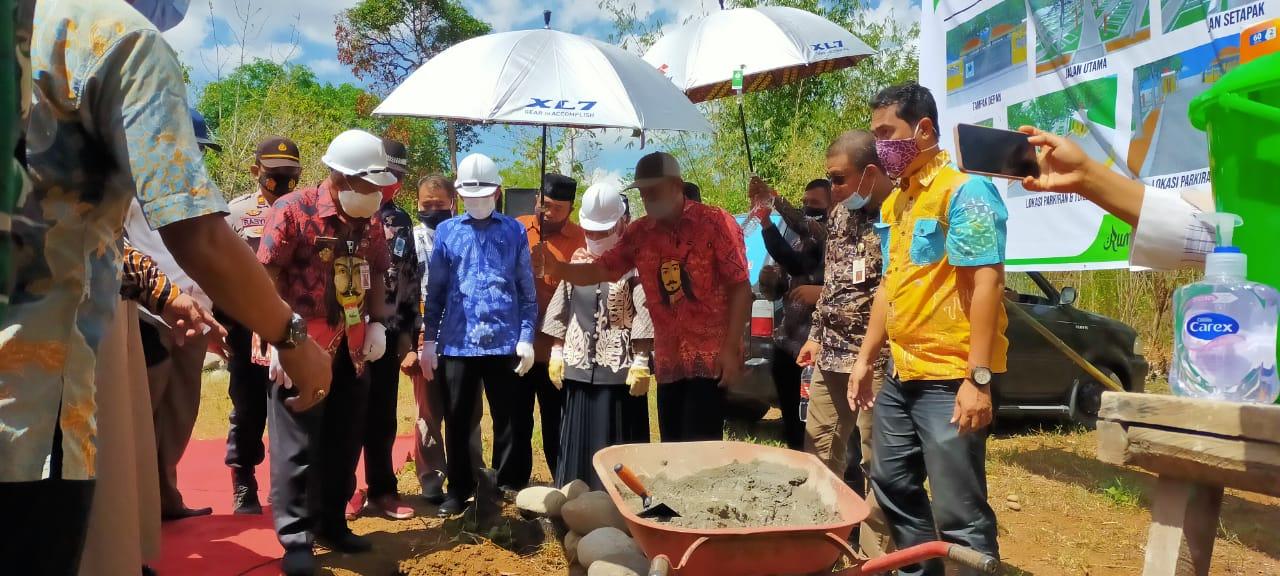 Kerukunan Keluarga Bulukumba Bangun Lokasi Pekuburan di Gowa