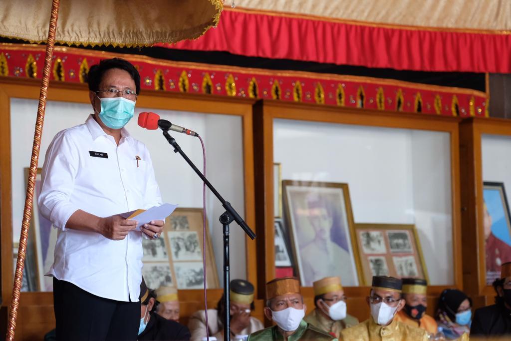 Pjs Bupati Gowa Terima Kunjungan Pangdam XIV Hasanuddin