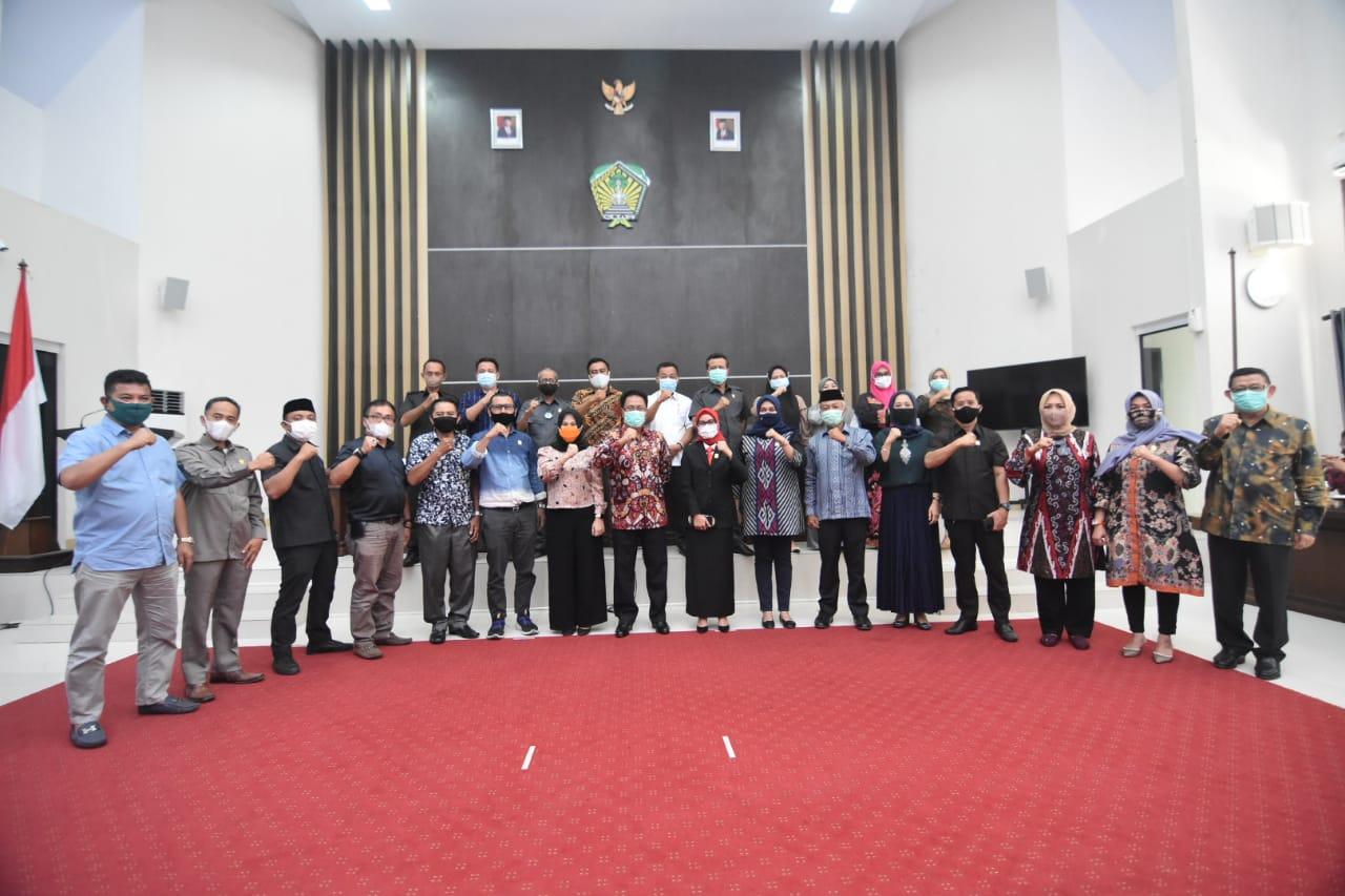 Pjs Bupati Silaturahmi Bersama Anggota DPRD Gowa