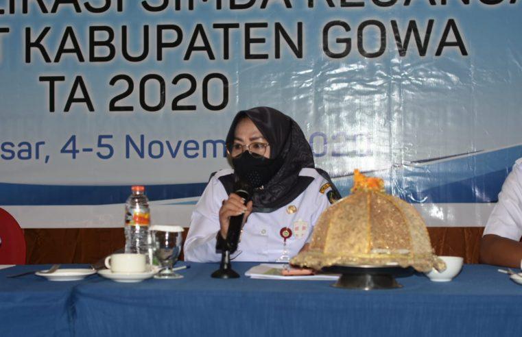 Gelar Bimtek Simda, Kamsina Harap Laporan Keuangan TA.2020 Selesai Tepat Waktu