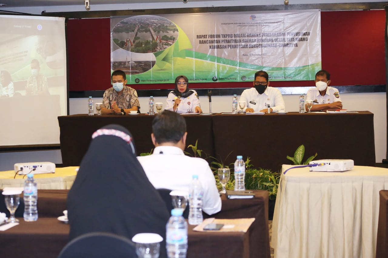 Pj Sekda Gowa Buka Forum Penyusunan RDTR Sungguminasa-Cambayya