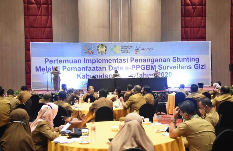 Dinkes Gowa Gelar Pertemuan Pemanfaatan Data e- PPGBM