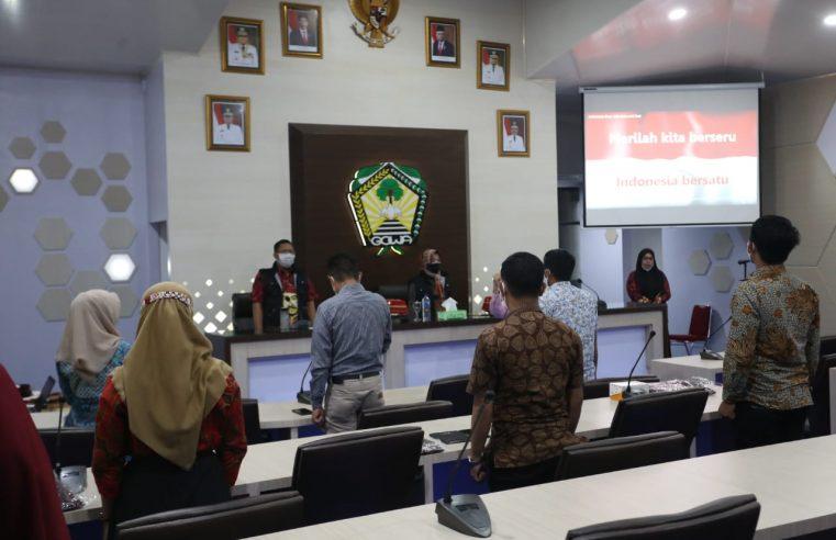 Sosialisasikan SP4N LAPOR ke Masyarakat, Pemkab Gowa Gelar Bimtek Pengelola LAPOR Kecamatan