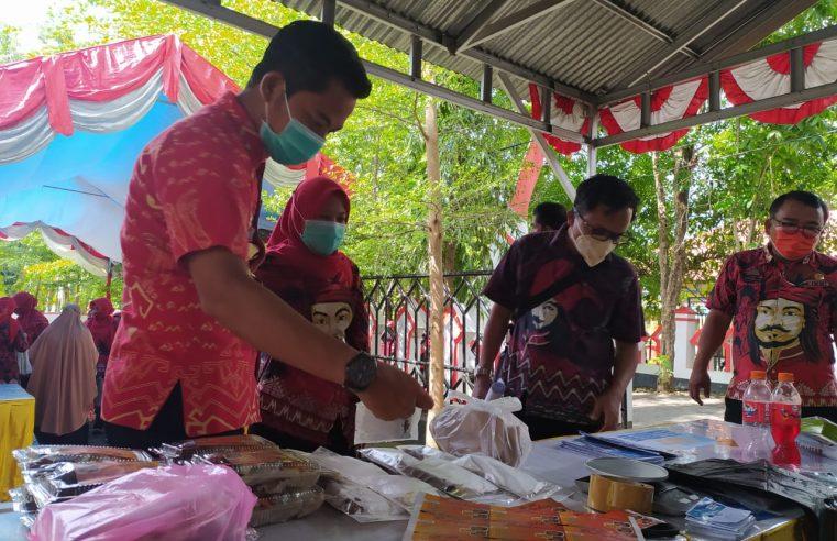 Harkannas Tahun 2020, Dinas Perikanan Gowa Gelar Pameran Olahan Ikan