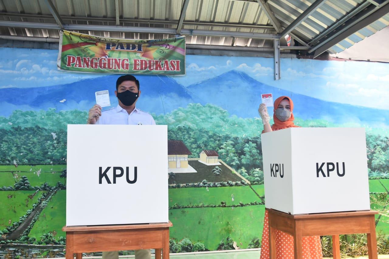 Gunakan Hak Pilihnya, Adnan Harap Target Partisipasi Pemilih Tercapai