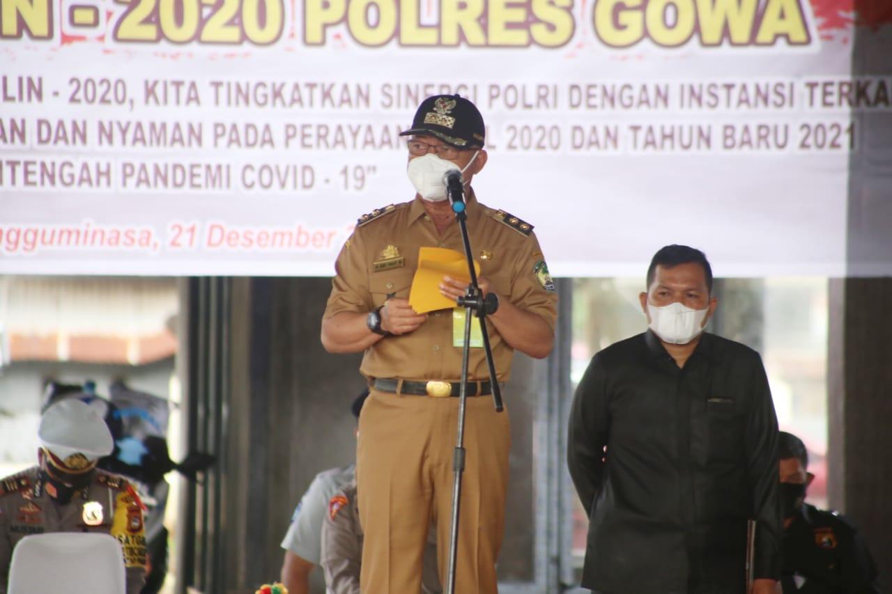 Wakil Bupati Gowa Harap Tidak Ada Cluster Baru Penyebaran Covid-19 Perayaan Natal dan Tahun Baru