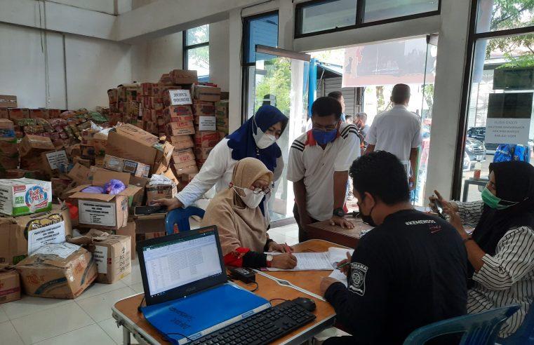 Bentuk Posko Peduli Sulbar, Bantuan Terus Berdatangan di Kantor Bupati Gowa