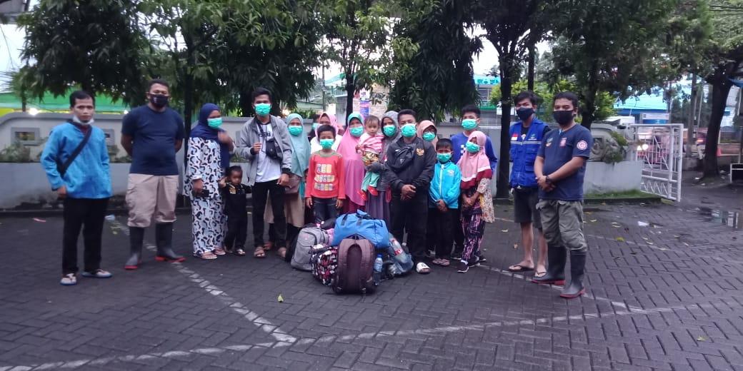 Pemkab Gowa Jemput 3 KK Pengungsi Asal Mamuju Sulbar