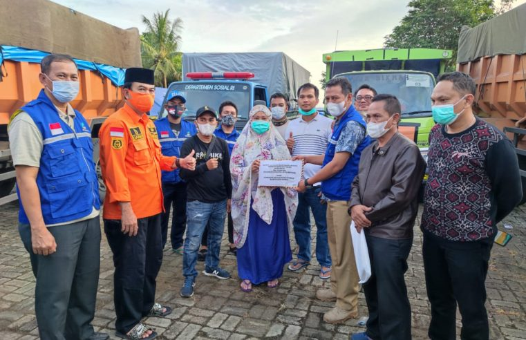 Pemkab Gowa Serahkan Bantuan untuk Korban Gempa Sulbar
