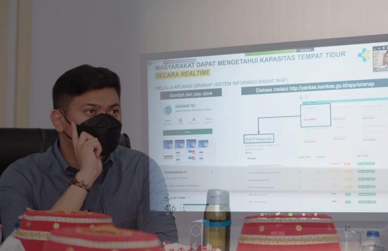 Bupati Gowa Hadiri Rakornas Penegakan Disiplin Protokol Kesehatan Covid-19 Secara Virtual