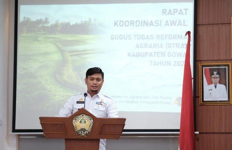Pemkab Gowa Bentuk Tim GTRA untuk Penyelesaian Sengketa Tanah