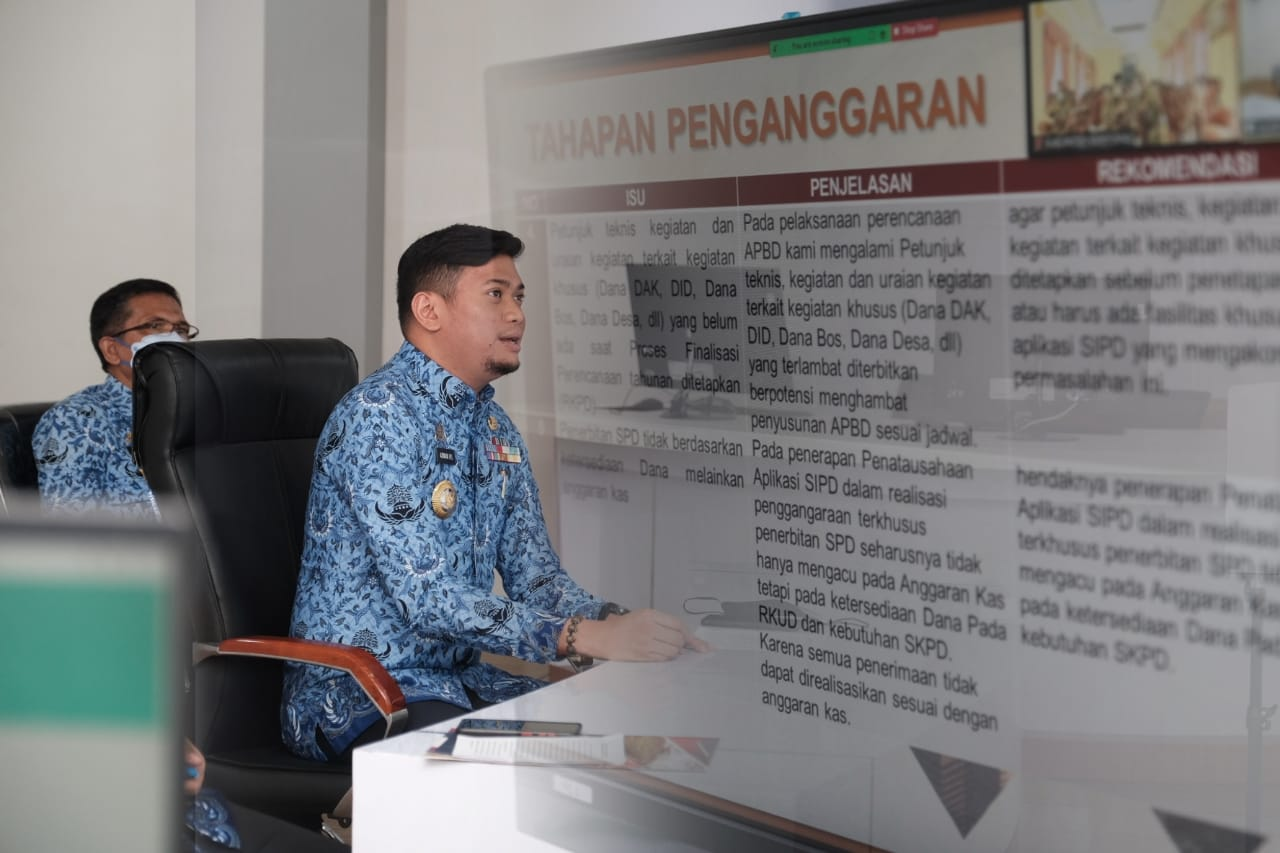 Adnan Sampaikan Sejumlah Usulan Penyusunan Pedoman APBD Tahun 2022