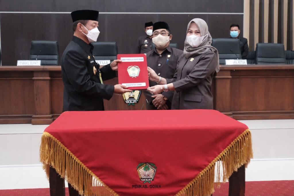 DPRD Nilai Kinerja Pemkab Gowa Tahun 2020 Capai Target