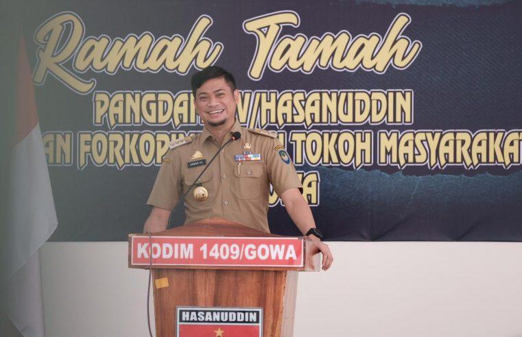 Bupati Adnan Sebut Sinergitas Dengan TNI Dukung Kemajuan Pembangunan Daerah