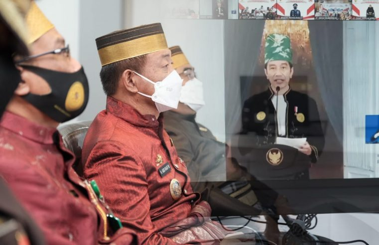Hari Lahir Pancasila 2021, Wakil Bupati Gowa Ajak Perkokoh Persatuan Bangun Bangsa