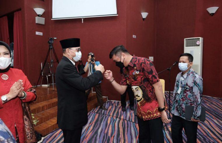 Bupati Adnan Hadiri Promosi Doktor Kepala BPKP Sulsel