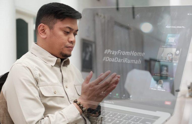 Bupati Gowa Ikut Doakan Indonesia dari Rumah