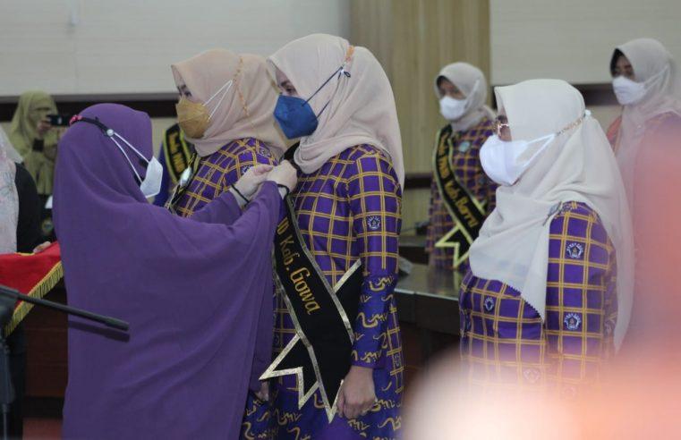 Dikukuhkan Jadi Bunda PAUD Gowa, Priska Adnan Fokus Program Penanganan Stunting