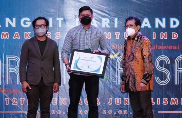 Bupati Adnan Raih Penghargaan Tokoh Inspiratif Muda