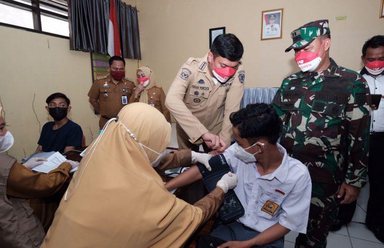 Pemkab Gowa Dorong Cakupan Vaksinasi Kelompok Pelajar
