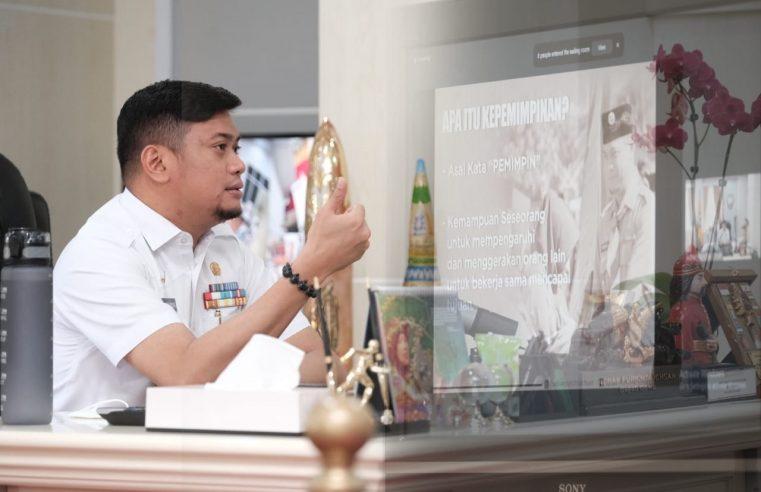 Bupati Adnan Berbagi Kiat Kepemimpinan Dihadapan Anggota Pramuka se-Sulsel